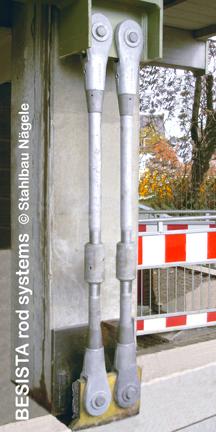 Zuganker mit Spannhülsen System BESISTA, Sanierung der EWS Arena Göppingen - 17