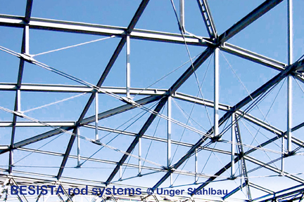 BESISTA Stabanker/Gabelköpfe für die Unterspannungen Messe Wien Austria - 225