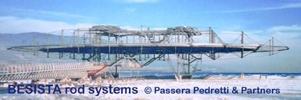 BESISTA Zugstabsysteme bilden das räumliche Tragwerk von
