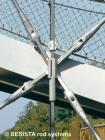 Stabanker und Zugstäbe System BESISTA zur Aussteifung, BuGa Weil am Rhein - 70