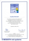 Betschart: 1994 erhielt BESISTA für das Design-Stabsystem den Stahl Innovationspreis - 109
