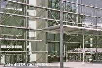 Zuggliedersysteme aus BESISTA Zugglieder und Gabelköpfen für die Aussteifungen - 115