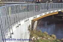 BESISTA Sonderanker mit Zugstangen für ein Brückengeländer - 151