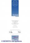 Betschart: Verzinkerpreis 1991 für das Zugstab- und Druckstabsystem BESISTA - 155