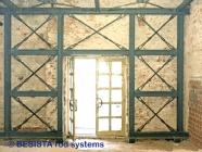 Zugglieder mit Stabanker von BESISTA zur Renovation eines historischen Gebäudes - 177