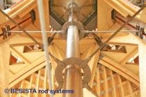 Zugstangensysteme BESISTA für die Aussteifung Expodach Hannover - 327