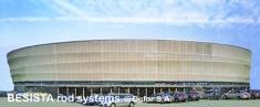 BESISTA Druckstäbe aus Stahl für das Wroclaw City Stadion Poland - 422