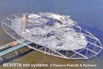 Zugstabsysteme von BESISTA bilden