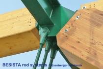Anschluss der BESISTA Stabanker/Gabelköpfe für die Brücke Kössen Austria - 479