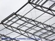Zugstabsysteme BESISTA für die Windverbände des Daches im Estadio de Bata - 527