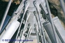 Zugstangensysteme von BESISTA für die Abhängungen im Skywalk Scheidegg - 588