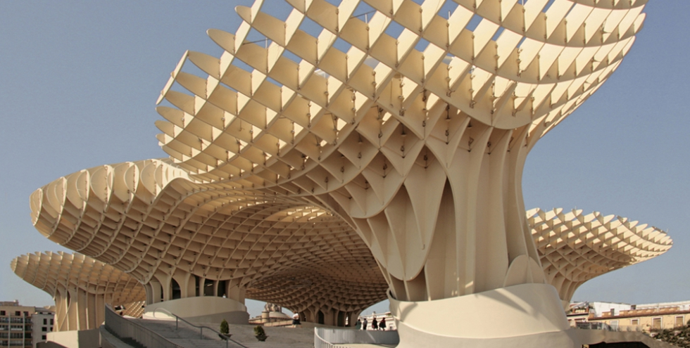 BESISTA Tension rod system - Reference Timber construction, Metropol Parasol, Seville, Spain