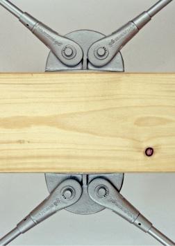 BESISTA-Ankerscheiben für Zugstäbe im Holzbau