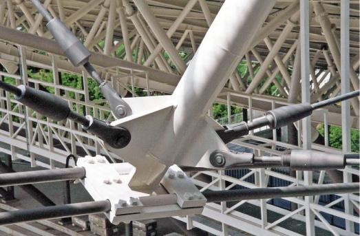 Stabanker-Gabelköpfe und Seilanschlüsse für Zugglieder System BESISTA