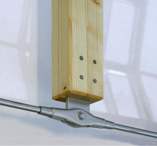Kreuzanker von Zugstabsysteme BESISTA für Unterspannungen im Holzbau