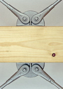 BESISTA Anchor plates for tension bars in timber construction