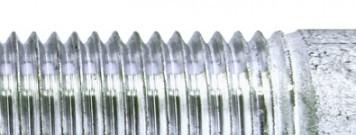 BESISTA Zugst�be/Zuganker mit einer Zinkschicht auf den Gewinden