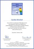 Stahl-Innovationspreis f�r das Zugstabsystem/Zugstangensystem BESISTA-460