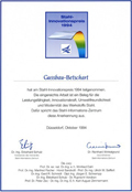 Steel Innovation Award for the tension rod system/tension bar system BESISTA-460