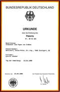 Betschart Anton-Peter � Premier brevet pour un syst�me de barres tendues