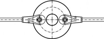 Disques de r�partition sans douille couvrante - Syst�me BESISTA