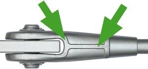 T�cnica de fundici�n perfecta para los anclajes/cabezales BESISTA