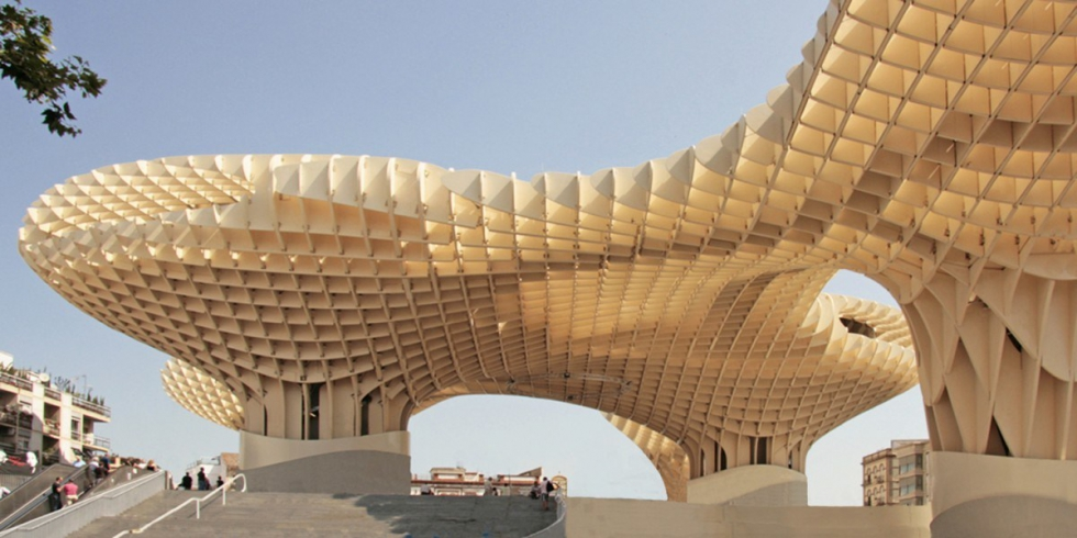 Tension rod systems BESISTA for bracings of the Metropol Parasol Seville
