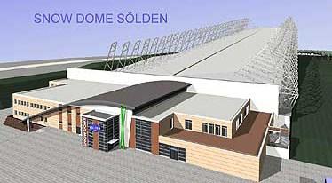 Sistemas de tirantes BESISTA para la construcci�n de acero Snow Dome S�lden