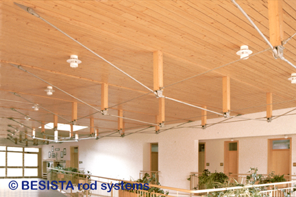 BESISTA tension members and rod anchors for bracing and lateral support in timberwork - 168