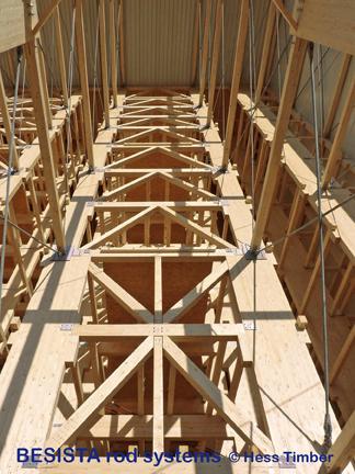 BESISTA tension systems for wind bracings in timberwork - 458