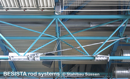 System BESISTA tension ties with rod anchors for the underpinning - 486