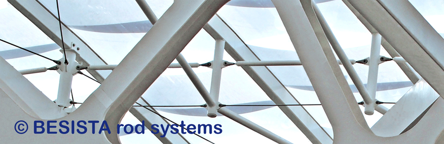 BESISTA compression strut systems/tension rod systems for bracing - Olympic stadium Sochi - 650