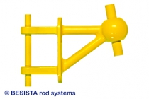 Betschart model of BESISTA special anchor for bars with hot-dip galvanized threads - 149