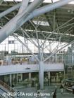 Betschart cast nodes for the forked struts at Stuttgart Airport - 238