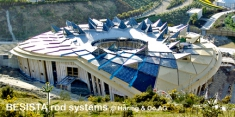 Rod systems BESISTA for the Eden Project in Cornwall, England - 340