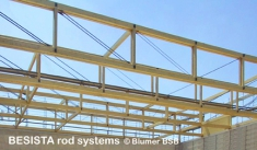 BESISTA tension bars/tension ties in the roof trusses made of timber - 506