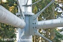 BESISTA tension systems for the bracing of the steelwork Skywalk Scheidegg - 591