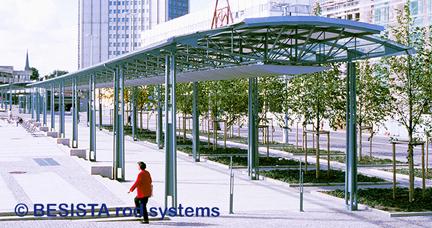 Systèmes de tirants BESISTA pour contreventements dans les construction en acier et en verre - 08