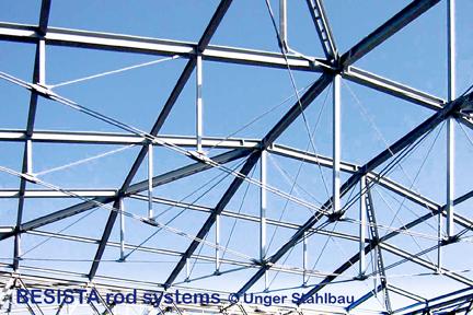 Ancrages/chapes BESISTA pour les constructions sous-tendues, Foire de Vienne, Autriche - 225