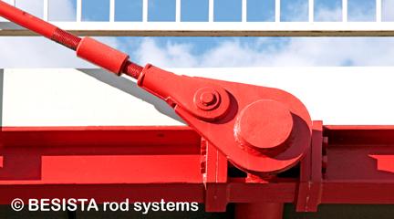 Barre tendue et ancrage de BESISTA pour l'haubanage du pont, GP - 260