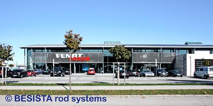 Systèmes de tirants et systèmes de barres de compression BESISTA pour le Fendt Forum - 318
