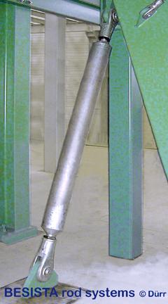 Système de barres de compression de acier avec ancrage/chape M76 - 463