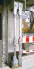 Barres d'ancrage avec douilles de serrage, assainissement du EWS Arena, GP - 17
