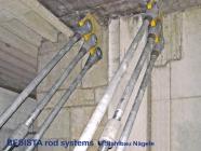 Barres tendues/ancrages système BESISTA pour l'assainissement du EWS Arena, Göppingen - 18