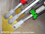 Barres tendues/ancrages système BESISTA pour précontraindre dans superstructures et travaux publics en sous-sol - 19