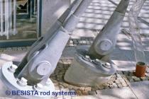 Barres tendues/ancrages système BESISTA pour l'ancrage, Clinique, Bad Neustadt - 35