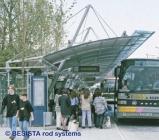 Barres de compression et tirants système BESISTA pour l'haubanage de la toiture - 85