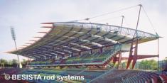 Systèmes d'haubanage de BESISTA pour le contreventement de Stade Wildpark, Karlsruhe - 99