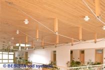 Tirants et ancrages BESISTA pour constructions sous-tendues et appuis latéraux dans la construction en bois - 168