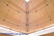 Tirants et ancrages BESISTA pour la construction sous-tendue et appui latéral - 203